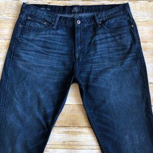 Lucky Brand 221 Original Straight Jeans Sz 40 x 34